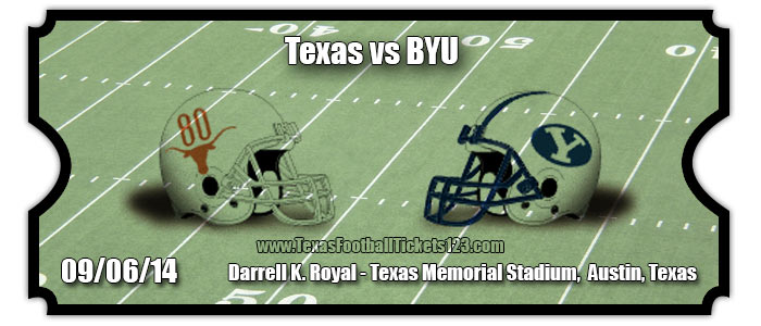 Texas Longhorns vs. BYU Cougars Football Tickets | Sept. 6 ...