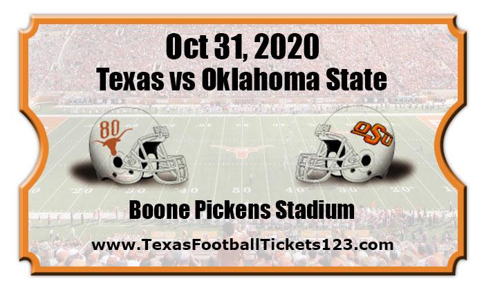 Texas Longhorns vs Oklahoma State Cowboys Football Tickets ...